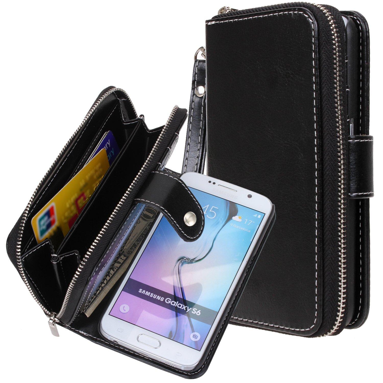 Amazon.com: Galaxy S6 Funda, S6 Caso, E LV Samsung Galaxy S6 ...