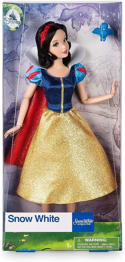 Boneca Princesa Branca De Neve Original Disney Store 28cms Amazon