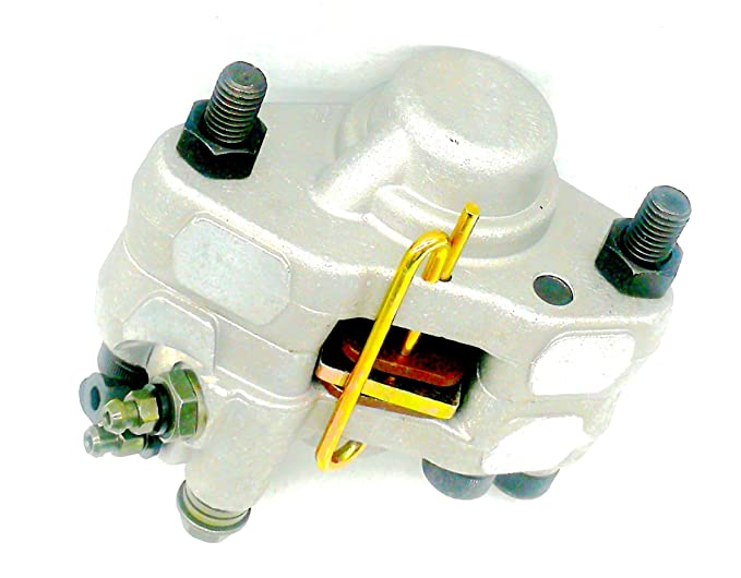Loofu Rear Brake Caliper Mounting for Polaris Magnum 325 HDS 2000 2001 With Pads