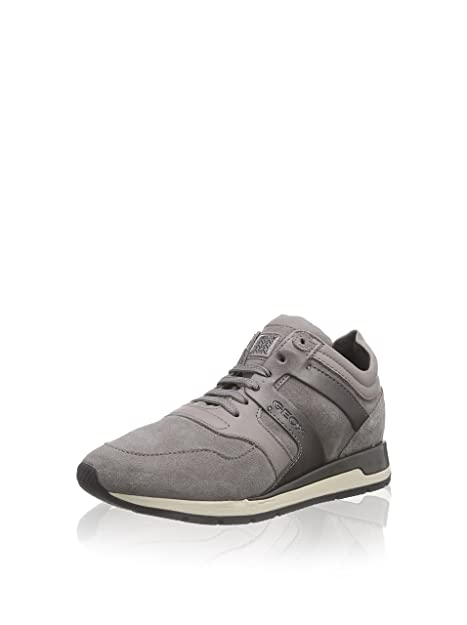 Geox scarpe shahira d44n1b c1006 sneakers ragazza suede leather grey