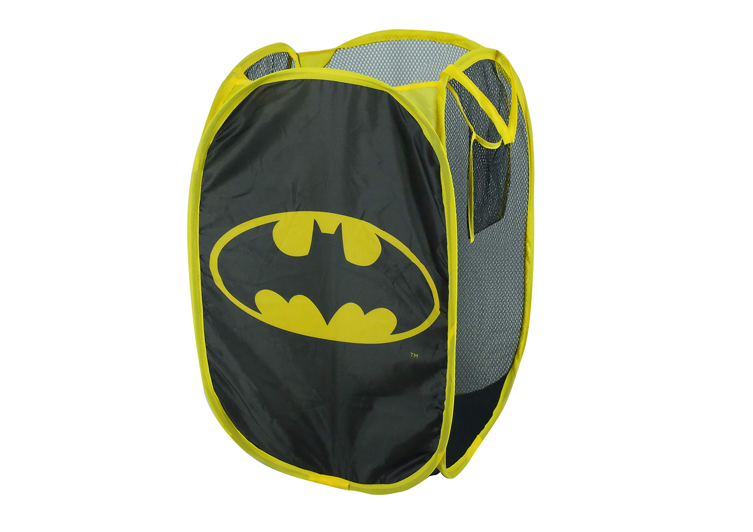 Batman Pop Up Laundry Bin, Black by Warner Bros