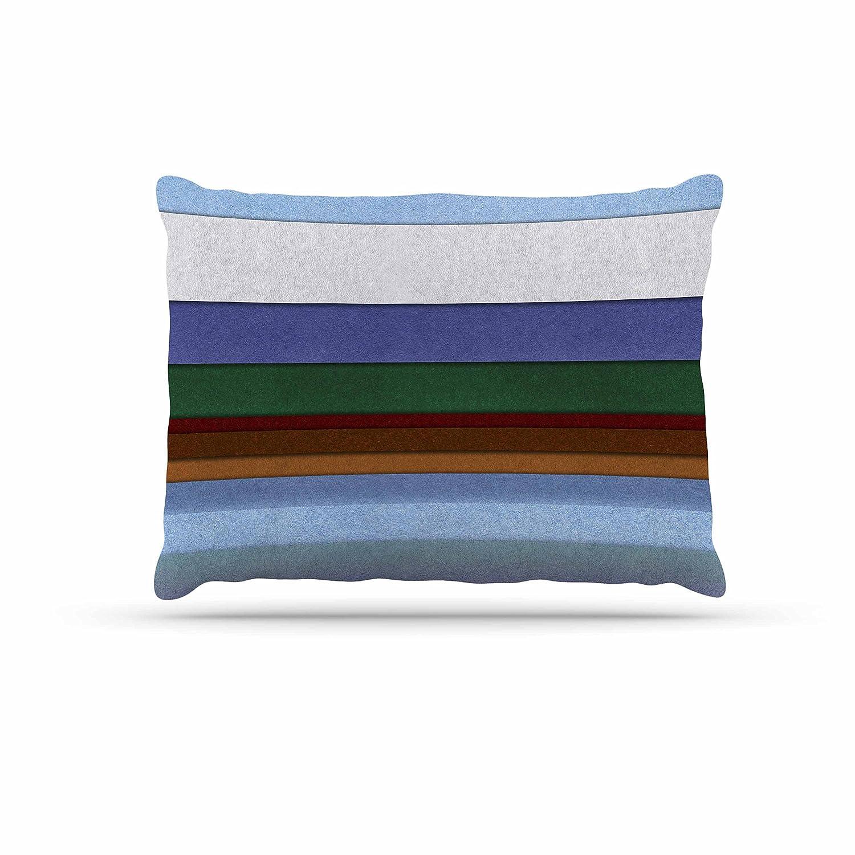 Kess InHouse Iris Lehnhardt color Grunge Fleece Dog Bed, 30 by 40Inch