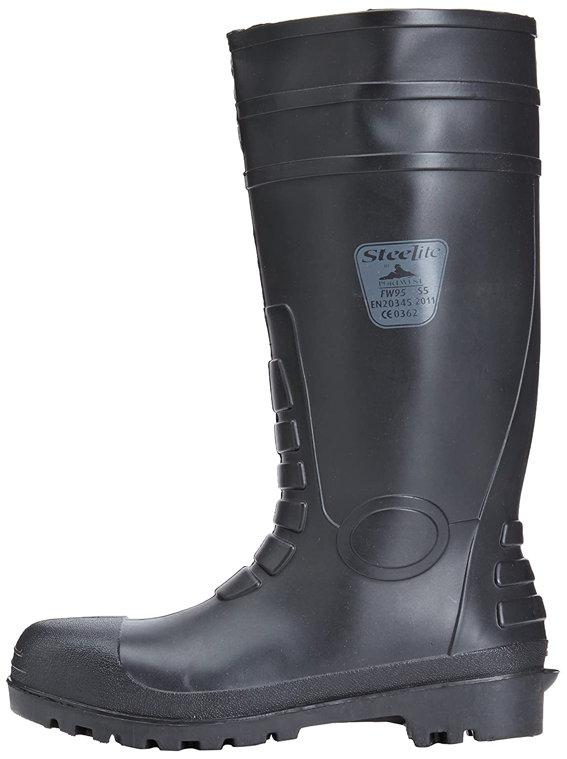 Safety 37 Stivale S5 Portwest Total Nero Wellington FW95BKR37 t6CfxqnRwP