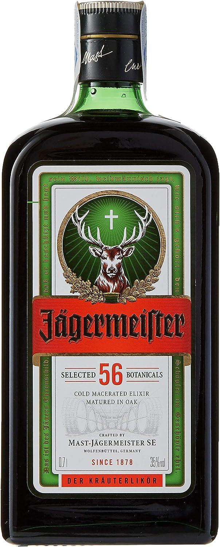 Jägermeister - Licor, Botella 70 cl (35% Vol)