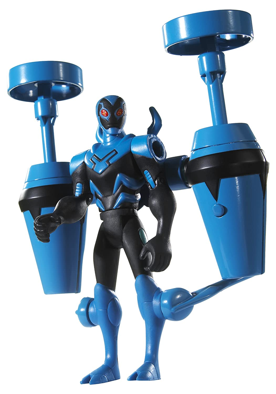 Batman - The Brave and the Bold - Cartoon Collection - TWIN TURBO Blau BEETLE - Deluxe Action Figur - OVP