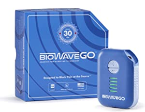 BioWaveGO FDA Cleared Device for Chronic Pain Relief & Acute Pain Relief | Non-Opioid | Wearable Technology | Provides Pain Relief for Numerous Locations on The Body