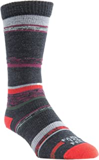 product image for Farm To Feet Men's King Ultra-Lightweight Sock,Charcoal/Sycamore,US XL