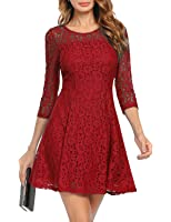 Vaidehi Creation Women's WesternWear Fit and Flare Skater A-Line Dress/ PartyWear Dress/Dresses For Women