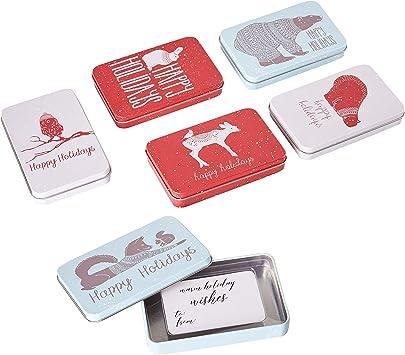Amazon.com: Juvale - Caja de regalo para tarjetas de regalo ...