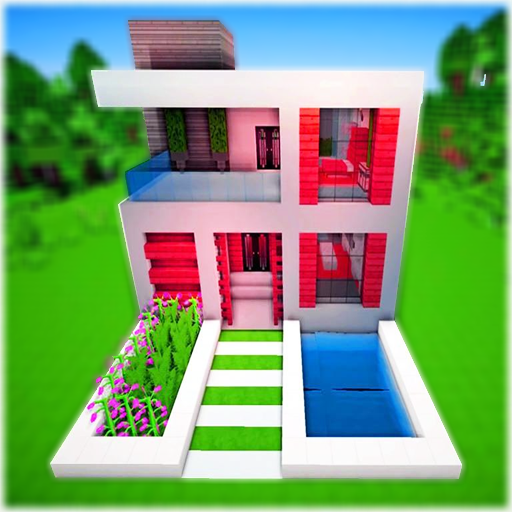 Amazon Com Modern House For Minecraft Pe