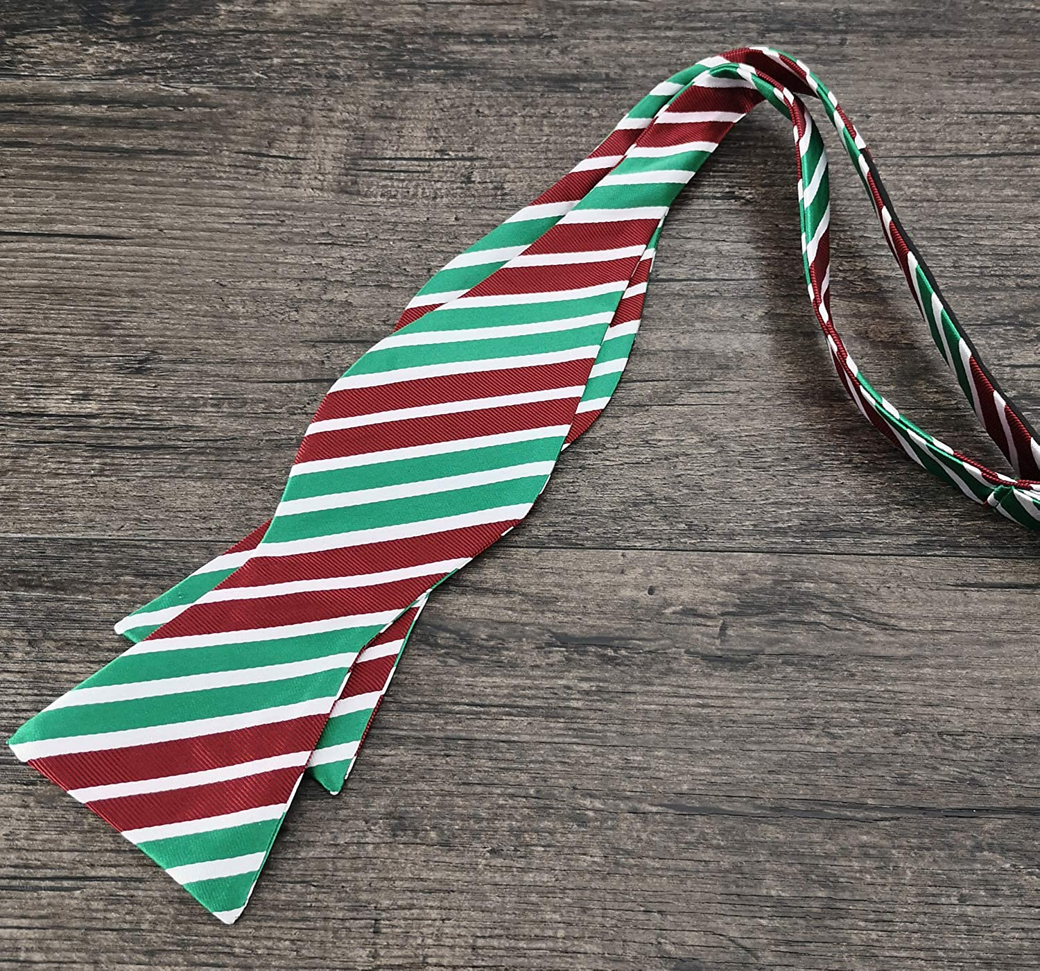 Various Style PenSee Mens Unique Patteren Jacquard Bow Ties for Christmas Bowtie Gift