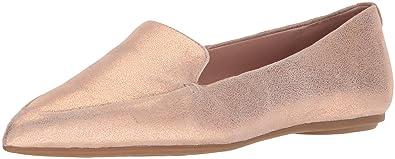 bf50a5260a0 Amazon.com  Taryn Rose Women s Faye Powder Metallic Loafer Flat  Shoes