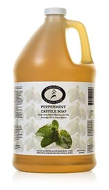 Carolina Castile Soap Peppermint   Certified Organic - 1 Gallon