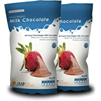 2 x La mejor bolsa de chocolate con leche belga de 900 g - Adecuada para