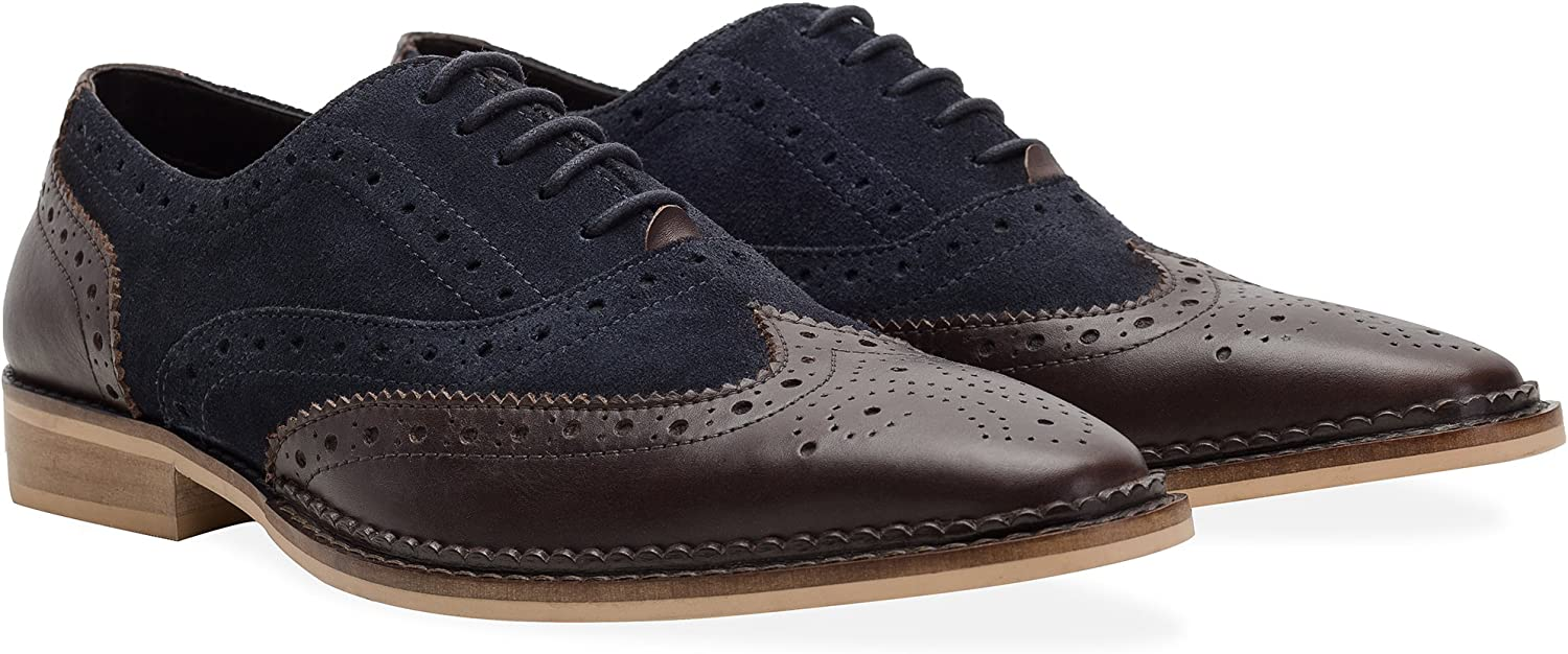 Redfoot Zapatos Oxford Azul Marino EU 43 (UK 9)