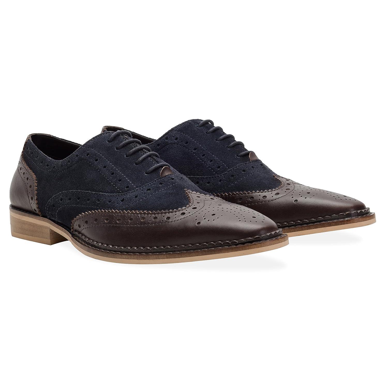 Redfoot Zapatos Oxford Azul Marino EU 43 (UK 9)