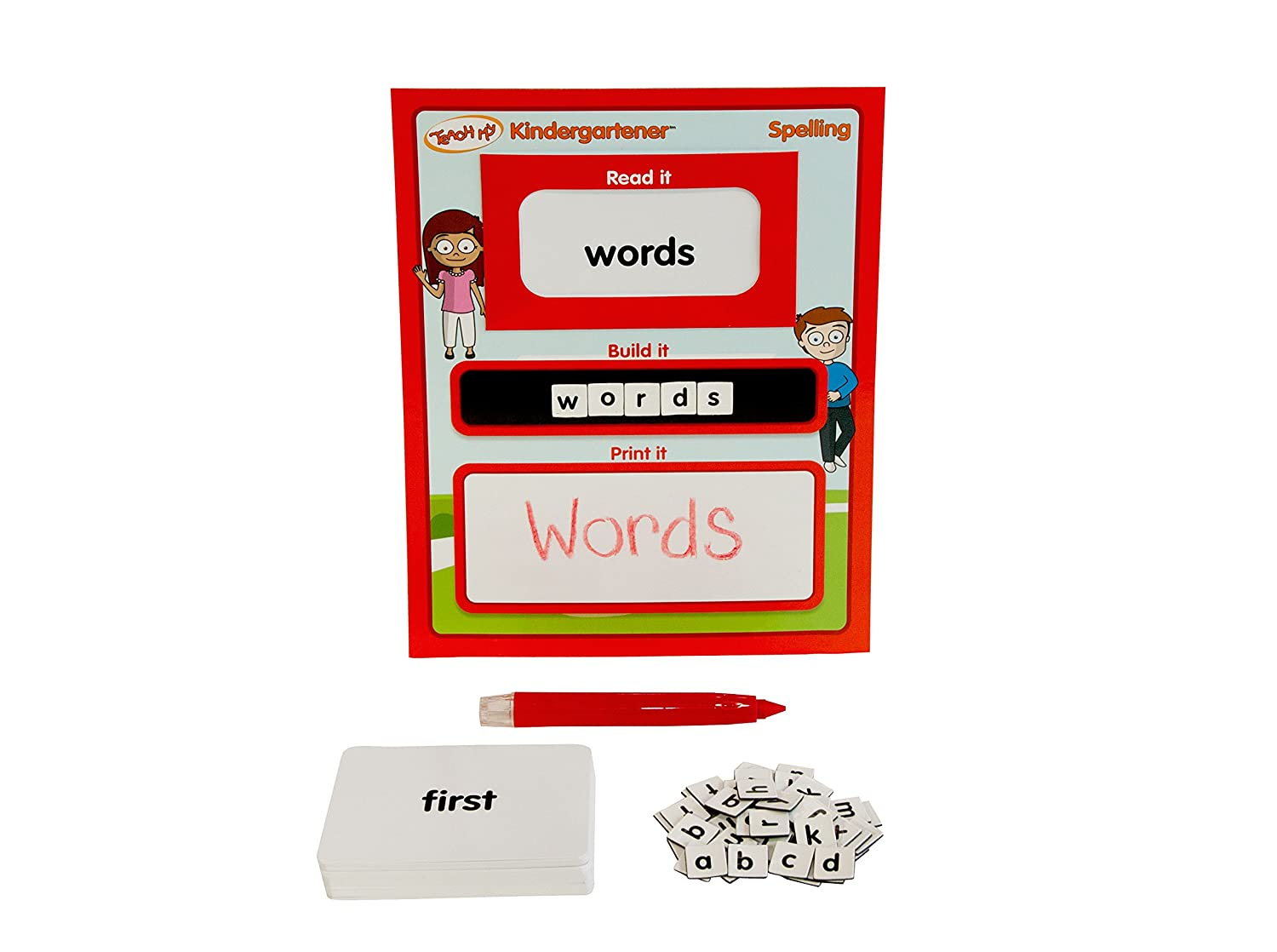 Teach My Kindergartener Spelling Educational Kit