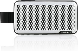 Braven Brava Premium Conference Call Speaker [2100 mAh] Car Speakerphone Accessory - Silver/Black