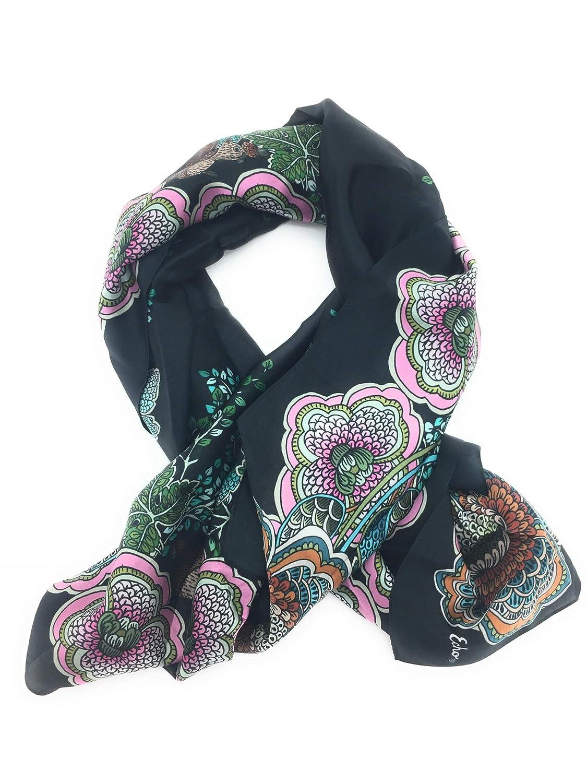 Echo Silk Floral Scarf Wrap