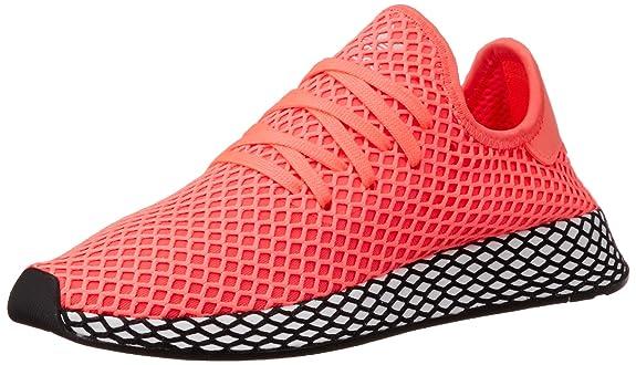 separation shoes 90efb 39248 adidas Herren Deerupt Runner Fitnessschuhe rot Amazon.de Schuhe   Handtaschen