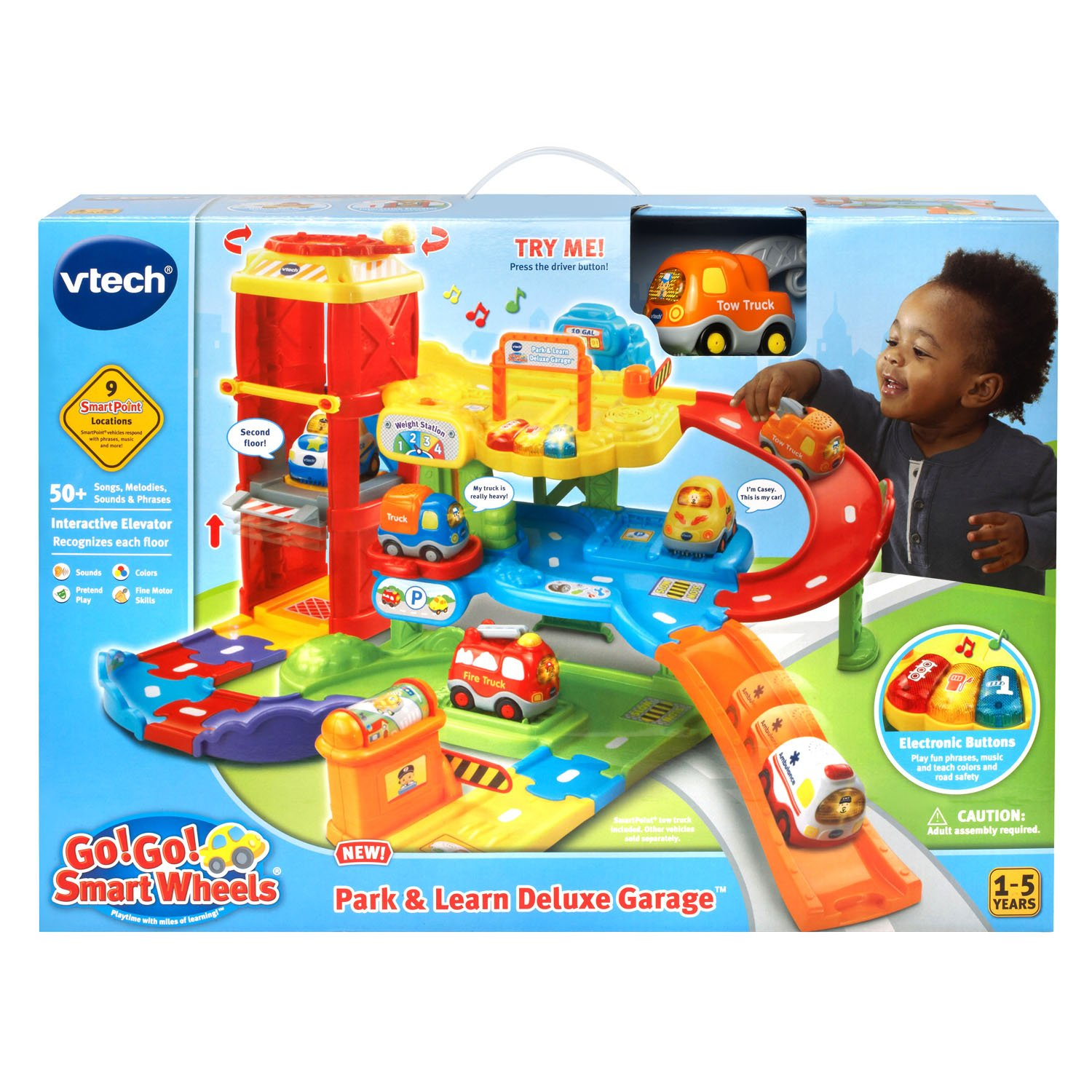 Buy VTech Go Go Smart Wheels Park and Learn Deluxe Garage line