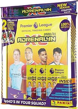 Panini- Premier League 2020/21 Adrenalyn XL - Pack de iniciación (PLA2021SP): Amazon.es: Juguetes y juegos