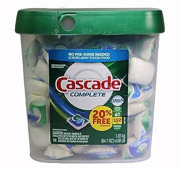 Amazon.com: Cascade completa actionpacs lavaplatos ...