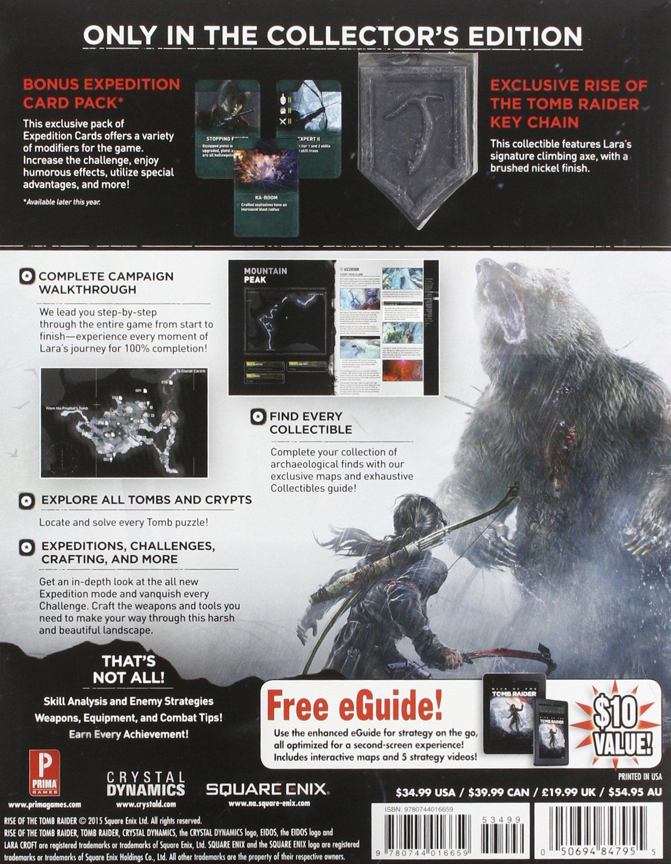 Rise Of The Tomb Raider Collectors Edition Guide Amazonde Prima