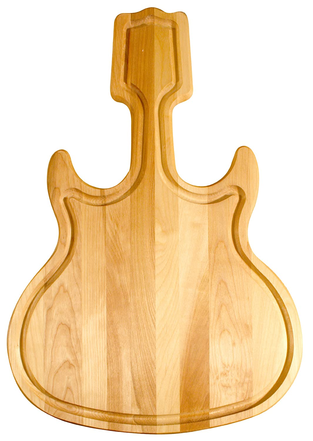 Catskill Craftsmen Guitar Shaped Cutting Board 1393