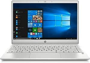 HP Laptop, Pantalla de 13.3, Procesador Intel Core i5-1035G1 10ª generación a 3.6 GHz, 8 GB RAM, 256 GB SSD +16 GB Memoria Intel Optane, Windows 10 (13-an1011)