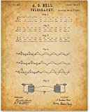 Telegraphy - 11x14 Unframed Patent Print - Great Gift for HAM Radio Operators