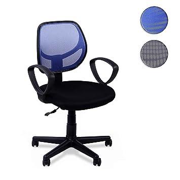 Adec - Student, Silla Escritorio giratoria, Silla Juvenil de Oficina,Color Azul, Medidas; 57 x 87-99 x 57 cm de Fondo: Amazon.es: Juguetes y juegos