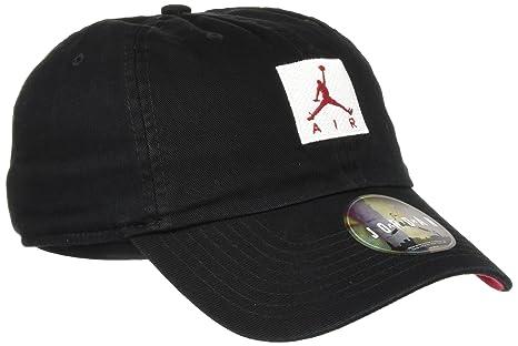485c50d1ef Nike Jordan H86 Jumpman Air, Cappello Unisex – Adulto, Nero Bianco/Gym Red