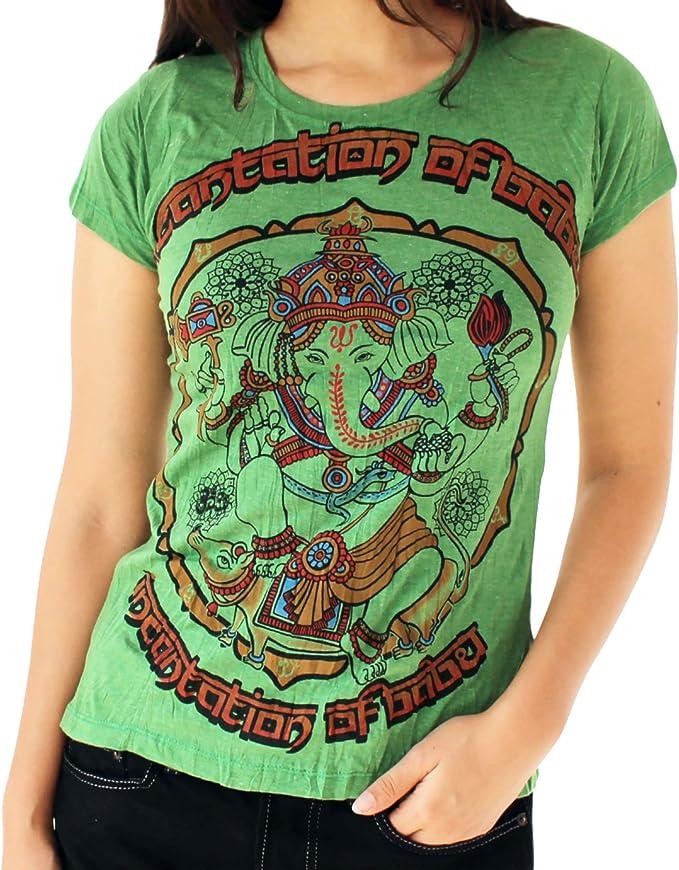 Amazon.com: Yoga Tees - Camiseta para mujer Omtimistic ...