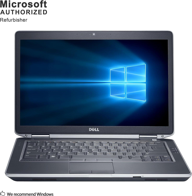 Dell Latitude E6430 PC, Intel Core I5 3210M Upto 3.1GHz, 8G DDR3, 512G SSD, VGA, HDMI, USB 3.0, WiFi, DVD, 14INCH, Win10 64 Bit-Multi-Language(CI5) (Renewed)