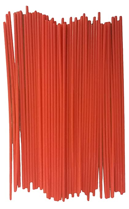 JQuad (50 Pack) Aerosol Spray Can Red Plastic Straws - Tip Extension Tubes  for Automotive Lubricant, Cleaner, Penetrating Oil