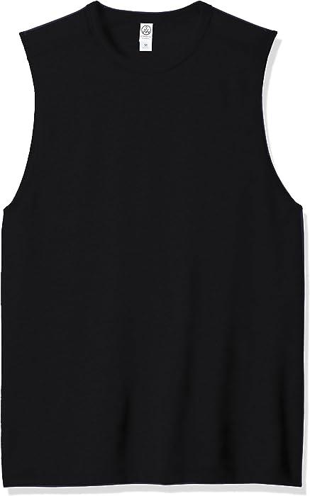 25d2b86d Amazon.com: Alternative Men's Keeper Muscle Tank, Black, Small: Clothing