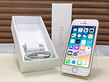 eb8242be30 Amazon | Apple SoftBank iPhone SE A1723 (MLXN2J/A) 16GB ローズ ...