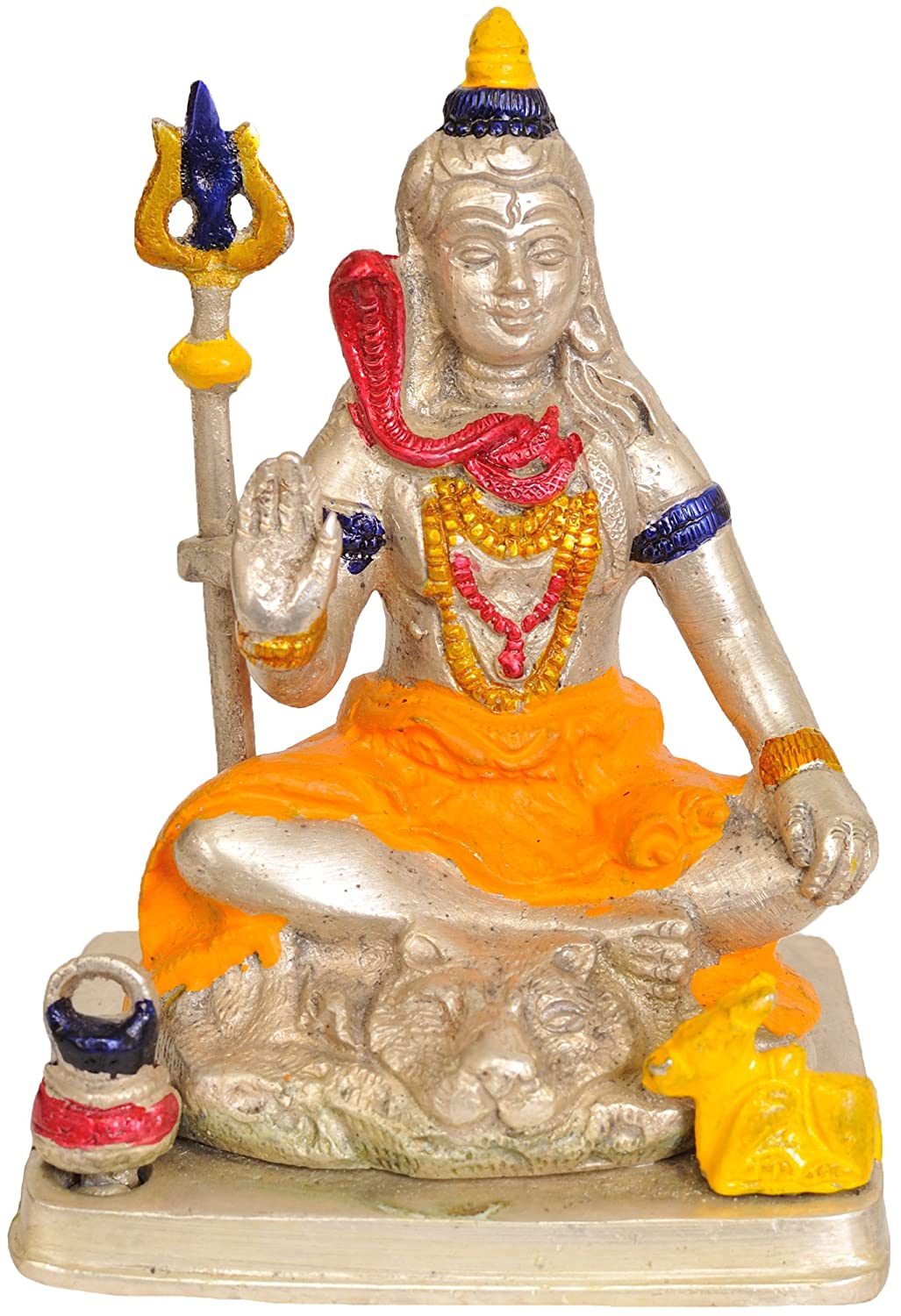 Exotic India ZBW07 Lord Shiva con Trishul