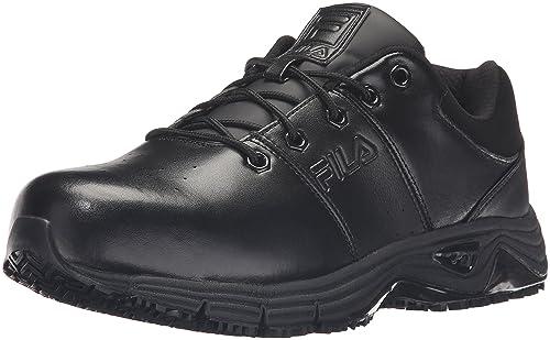 e20280da2b Fila Men's Memory Breach Work Slip Resistant Steel Toe Low Walking Shoe