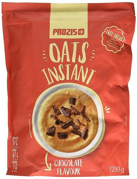 Prozis Instant Oats, Chocolate - 1250 gr: Amazon.es: Salud y cuidado personal