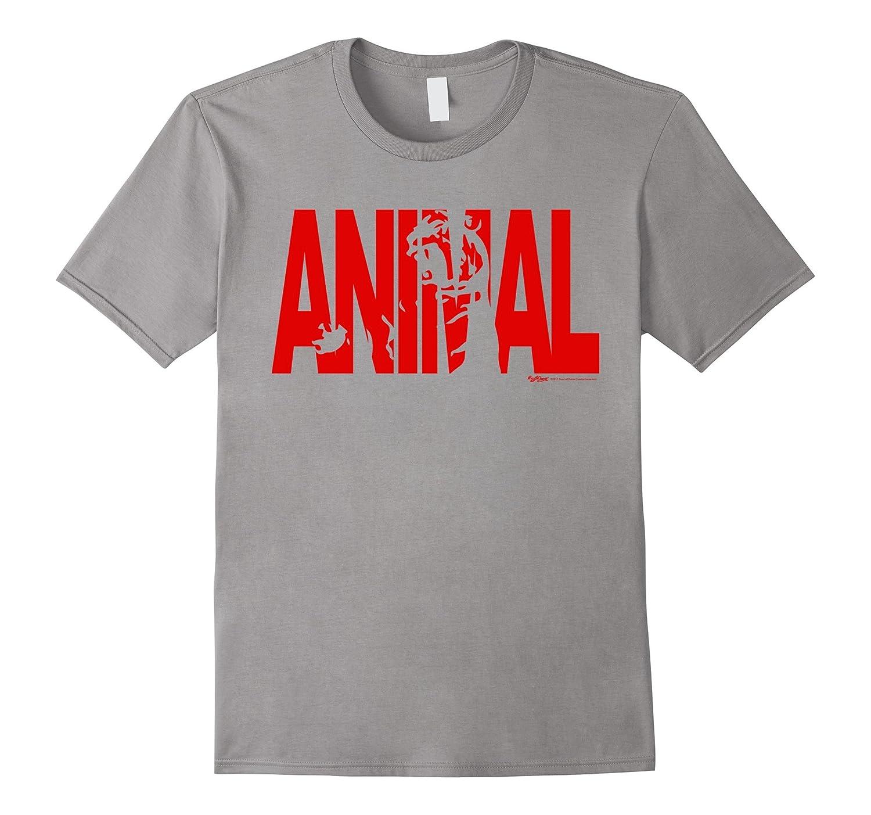 Animal Work Out Weight Lifting Gym T Shirt Men Women-Art