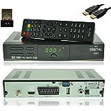 NA-Digital 2001 HD HDTV Satellitenreceiver mit Wifi USB Stick digitaler Satelliten-Receiver YouTube Sat-Receiver vorprogrammiert 12v Wohnmobil tv receiver HDMI SCART USB 2.0 Full DH 1080p HDTV