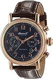 Ingersoll - IN1828RBL - Montre Homme - Automatique - Chronographe - Bracelet cuir Marron