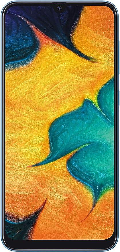 Samsung Galaxy A30 (Blue, 4GB RAM, 64GB Storage) with No Cost EMI/Additional Exchange Offers