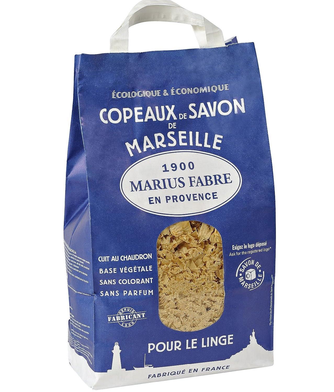 Seifenflocken aus echter Marseiller Seife Marius Fabre