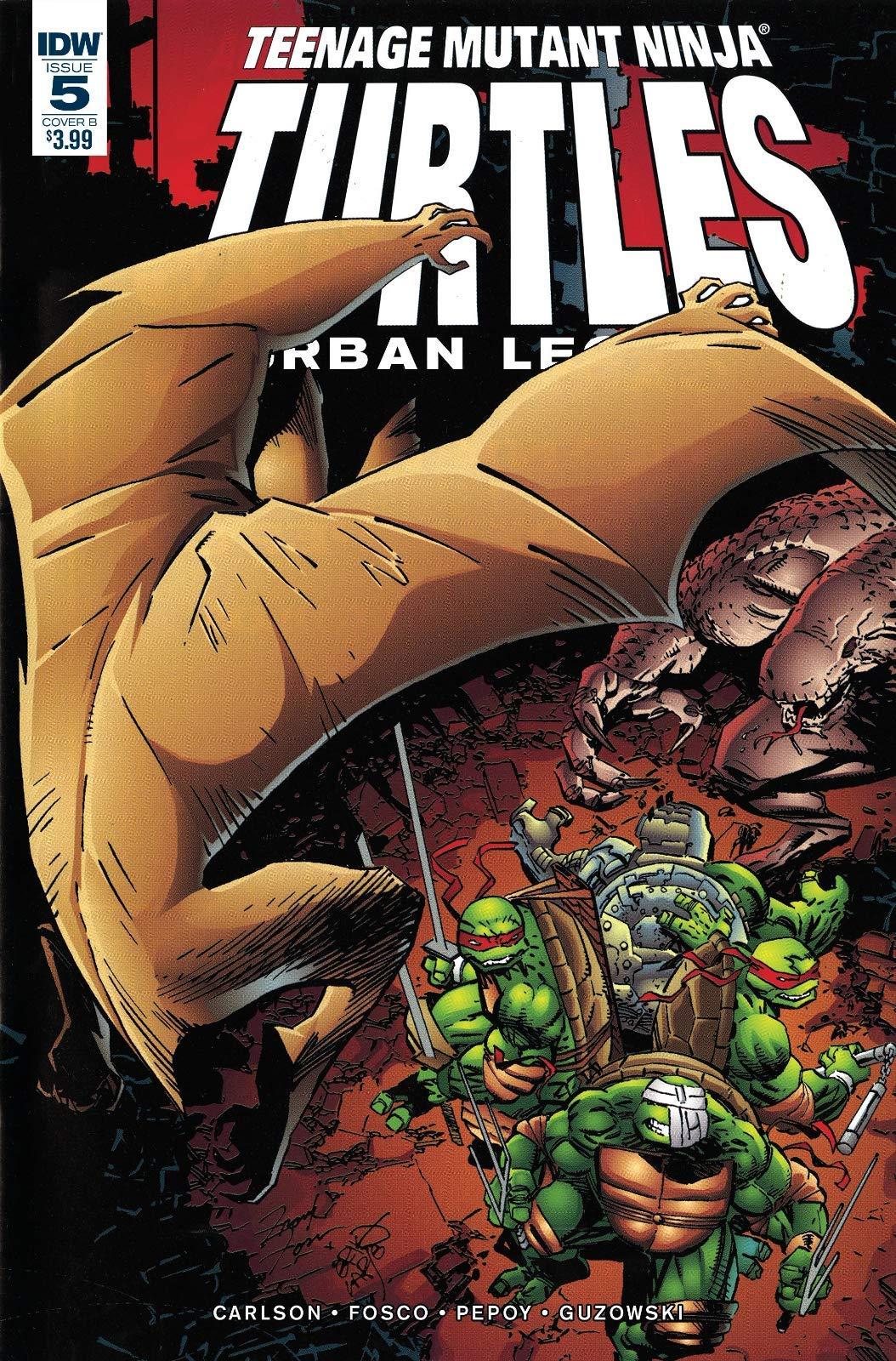 Teenage Mutant Ninja Turtles Urban Legends #5 Cover B: Gary ...