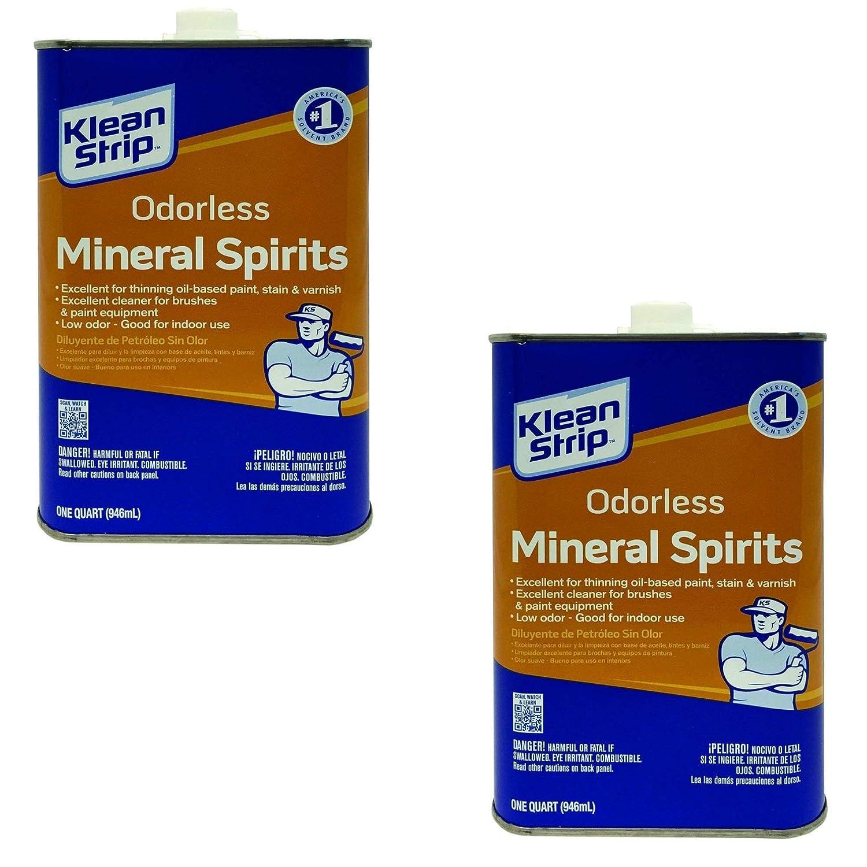 Klean-Strip QKSP94005 Odorless Mineral Spirits, 1-Quart