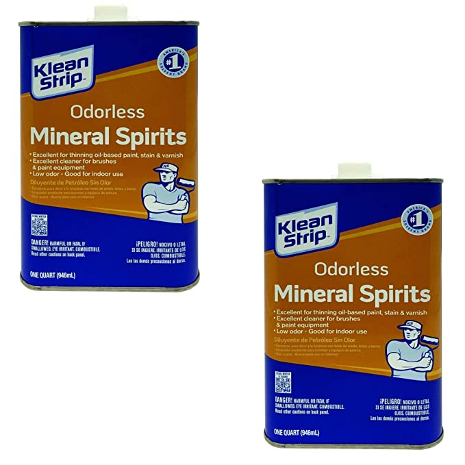 Clean strip mineral spirits improbable!