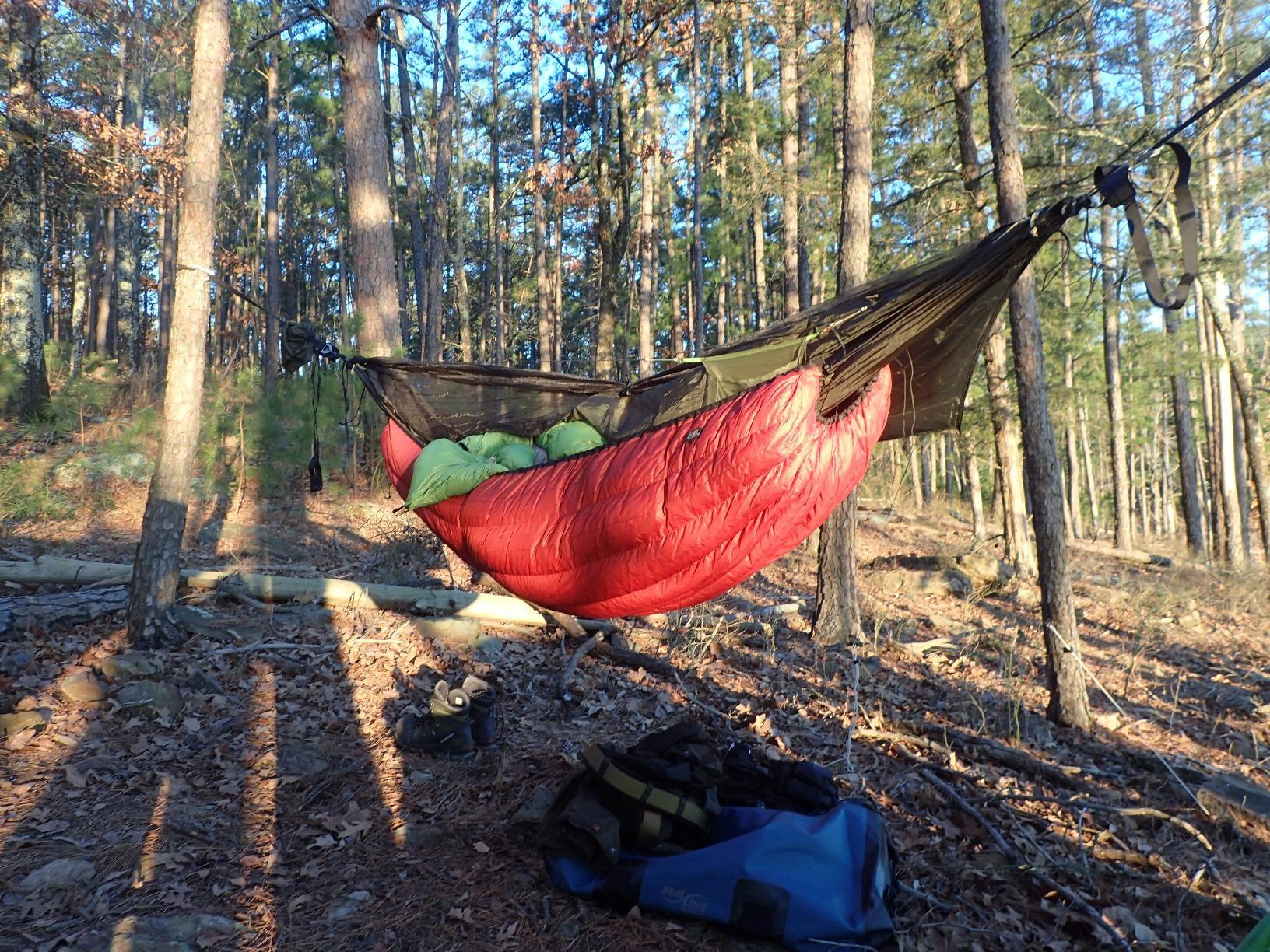 Quite a buy for the buck! Have used twice now once as an over quilt while hammock camping
